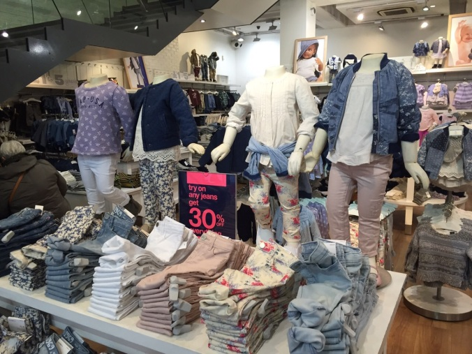 When in Oxford Street I always like to pop in and check out GAP Kids..
