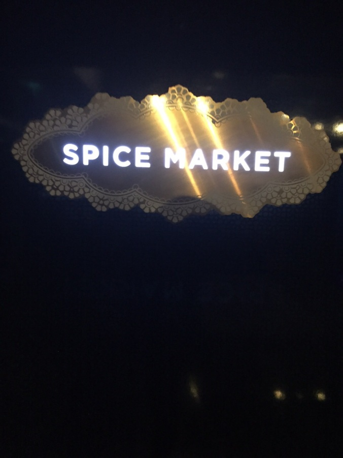 Super cool Spice Market in the W London Hotel!